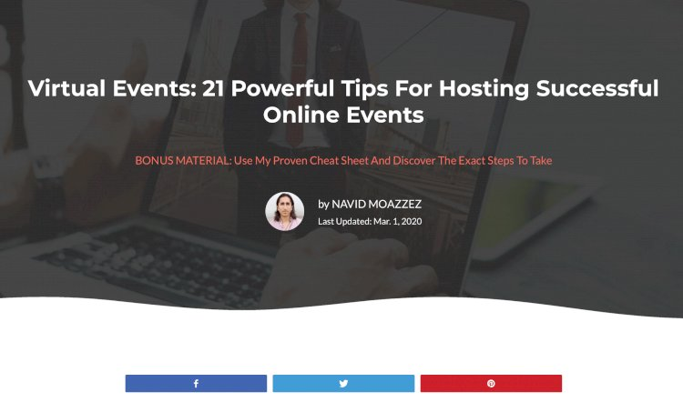 Virtual Events: 21 Powerful Tips For Hosting Successful Online Events