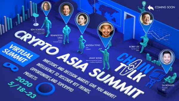 Crypto Asia Summit: New Virtual Event Restoring Blockchain Networking