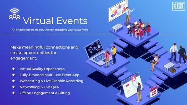 Hustle & Bustle launches virtual events toolkit to reconnect communities