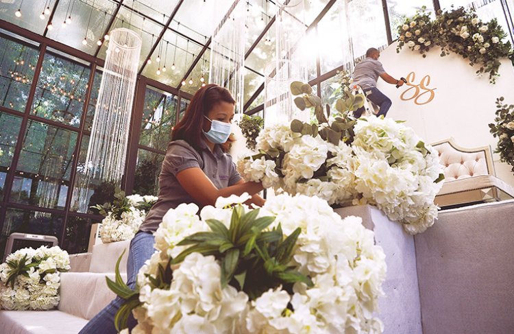 Tough times for wedding, event planners