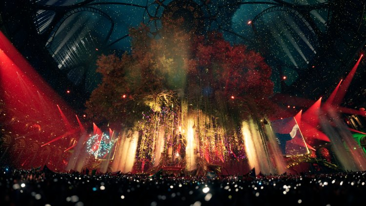 Tomorrowland breaks down the statistics and technology behind virtual New Year's Eve festival